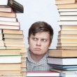 Stock Photo: Mbetween books