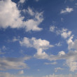 Stock Photo: Blue sky and white cloud