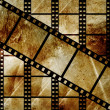 Royalty-Free Stock Photo: Aged film strip in grunge style