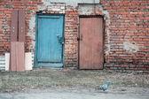 Two door — Stock Photo