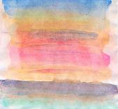 纸张纹理的抽象水彩背景 — 图库照片