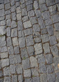 Rough texture of block pavement — Stock Photo