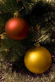 Year's tree ball — Foto Stock