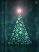 Christmas tree background — Stockfoto