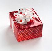 Piękne czerwone pudełko — Zdjęcie stockowe