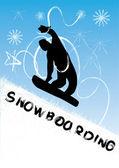 滑雪矢量图 — 图库照片
