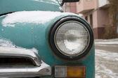 Headlamp vintage car — Stock Photo