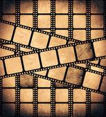 Striscia di pellicola di età compresa tra — Foto Stock