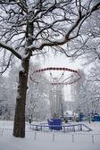 Kış harikalar diyarı cazibe — Stok fotoğraf