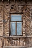 木制窗口 — 图库照片
