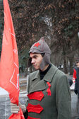 7th of November communist demonstration — Stock Photo