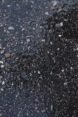 Wet asphalt texture — Stockfoto