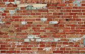 Tegel vägg bakgrund — Stockfoto
