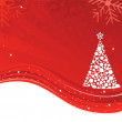 Royalty-Free Stock Vectorielle: Beautiful Christmas tree illustration
