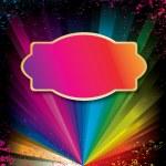regenboog vector achtergrond — Stockvector