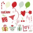 Royalty-Free Stock Vectorielle: Valentine\'s Day Set