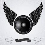 Speaker — Stock Vector #18094489