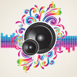 Music concept - Stock Vector