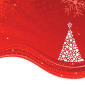 Beautiful Christmas tree illustration — Stock Vector