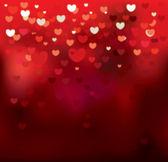Blurry hearts — Vecteur