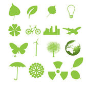 Set of ecology icons. — 图库矢量图片