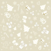 Background with christmas elements — Stock Vector
