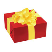 Ilustración de vector de caja de regalo — Vector de stock