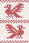 针织的鸟 — 图库矢量图片