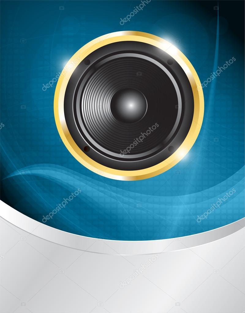扬声器 — 图库矢量图片 #18090743