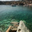Blue lagoon on Crete, Greece — Stockfoto