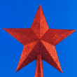 Red star for Christmas tree 2 — Stock Photo