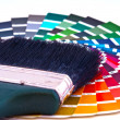 Choosing Paint Colors - Stock Photo