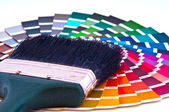 Choosing Paint Colors — Stock Photo