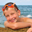 Smile young swimmer — Stock Photo #23124674