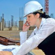 Builder of future — Stock Photo #23359556