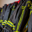 firefighter jacket — Stock Photo