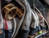 Fire hoses — Stock Photo