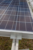 Photovoltaic panels installed — Stock Photo