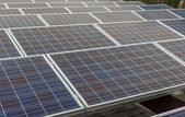 Photovoltaic panels — Stock Photo