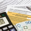 Stock Photo: Calculation of taxes