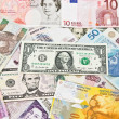 Stock Photo: International currencies