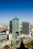 Panorama of Warsaw — Stock Photo
