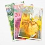 Swiss Franc — Stock Photo