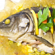 Stock Photo: Carp in aspic