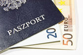 Polish passport — Stock Photo