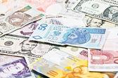 Money in the world — Stock Photo