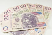 Poland PLN currency 20 — Stock Photo