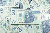 Poland PLN currency 50 — Stock Photo
