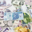 International currencies — Stock Photo