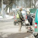 Repair the damaged road. — Stock Photo